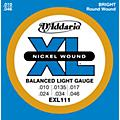D'AddarioEXL111 Balanced Regular Light Guitar Strings thumbnail