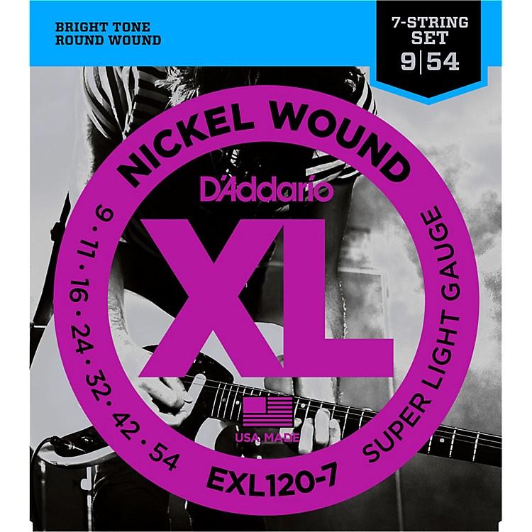 D'AddarioEXL120-7 Super Lite 7-String Electric Guitar Strings