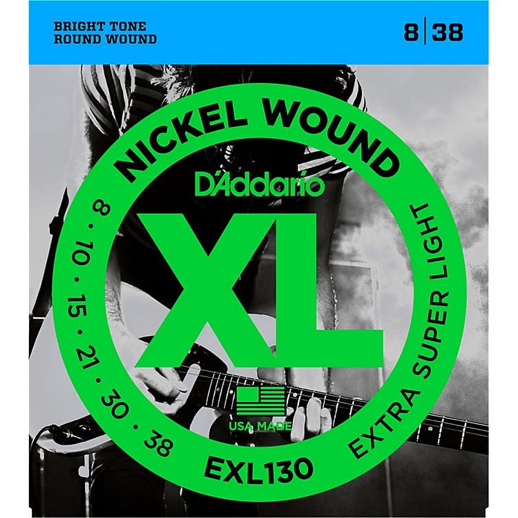 D'AddarioEXL130 Nickel Extra Super Light Electric Guitar Strings