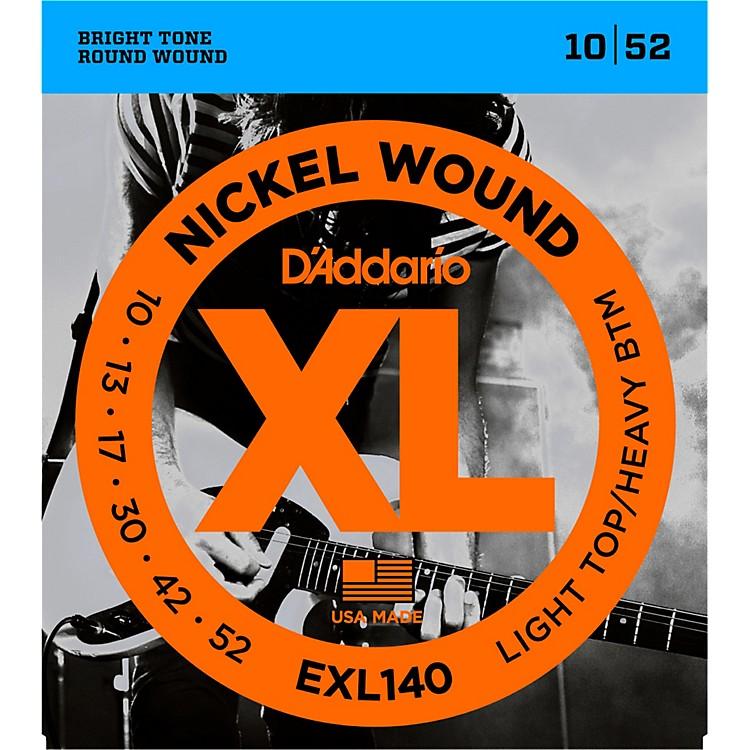 D'AddarioEXL140 Nickel Light Top/Heavy Bottom Electric Guitar Strings