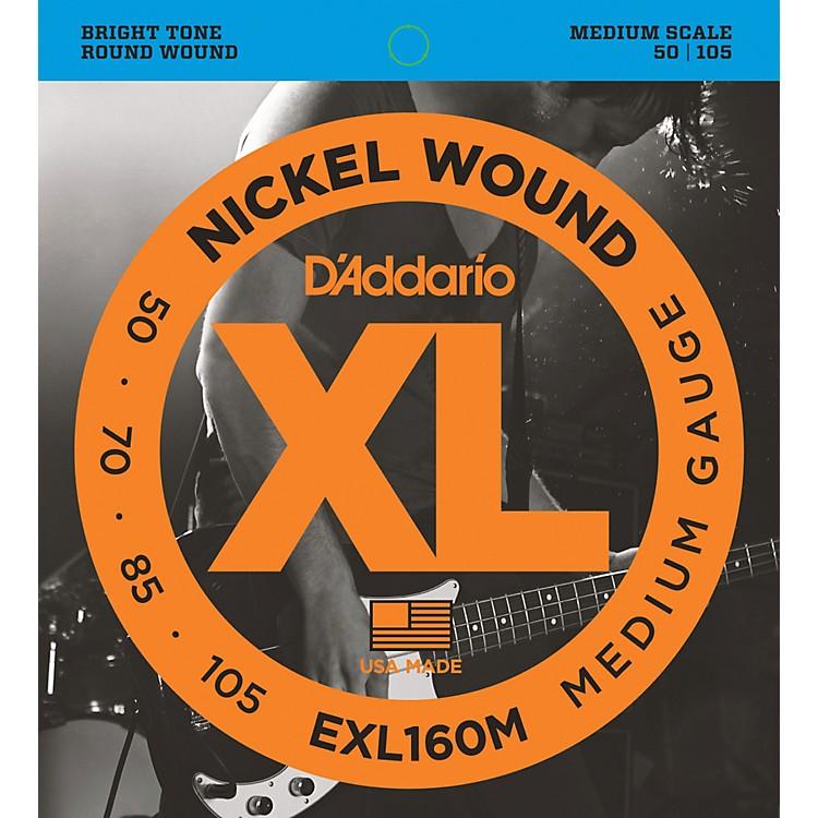 D'AddarioEXL160M XL Medium Bass String Set