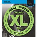 D'Addario EXL165-6 XL 6-String Bass Soft/Regular String Set