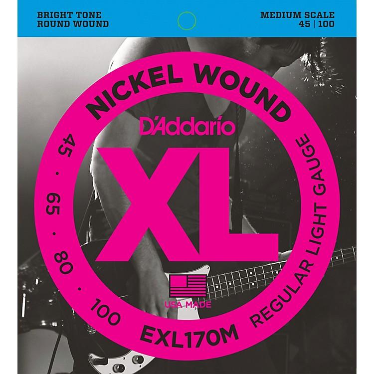 D'AddarioEXL170M XL Soft/Medium Bass String Set