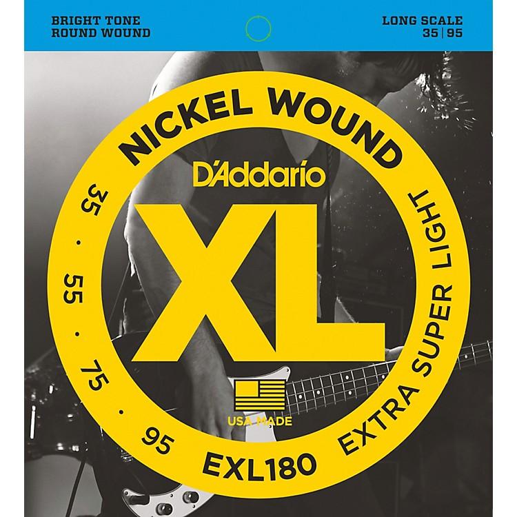 D'AddarioEXL180 XL Extra Super Soft/Long Bass Strings