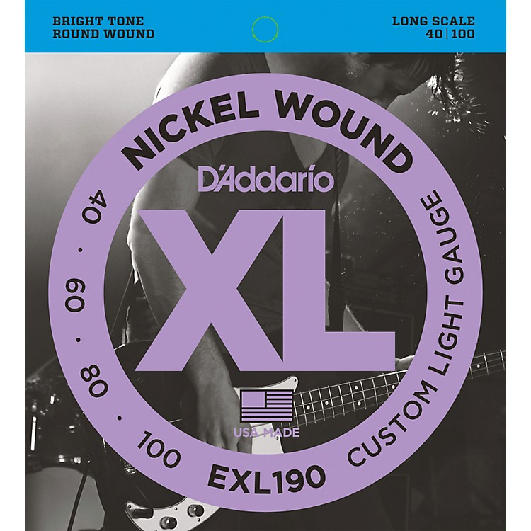 D'AddarioEXL190 Strings