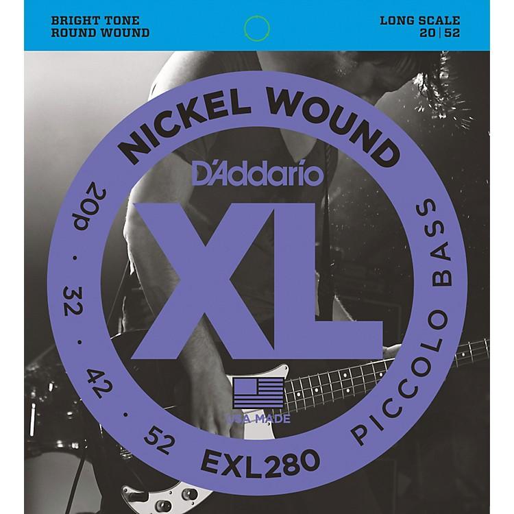 D'AddarioEXL280 XL Piccolo Bass Regular/Long String Set