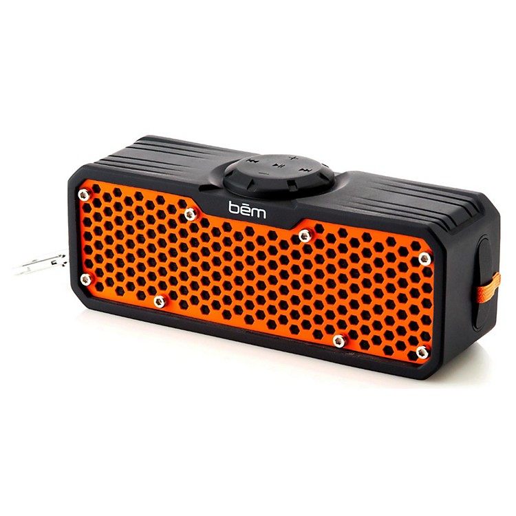 BEM Wireless EXO 400 Waterproof Bluetooth Stereo Speaker Black