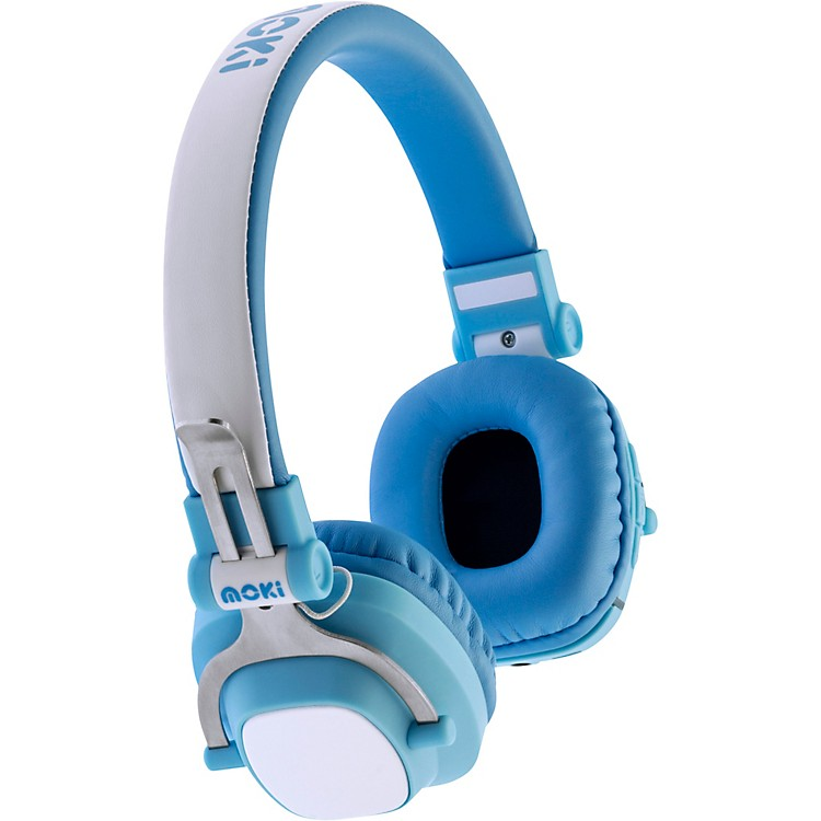 Moki EXO Kids Bluetooth Headphones Blue