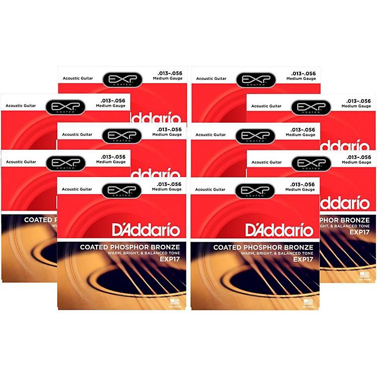 D'AddarioEXP17 Acoustic Strings 10 Pack