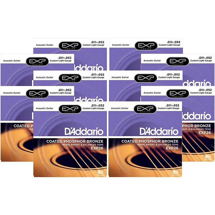 D'AddarioEXP26 Acoustic Strings 10 Pack