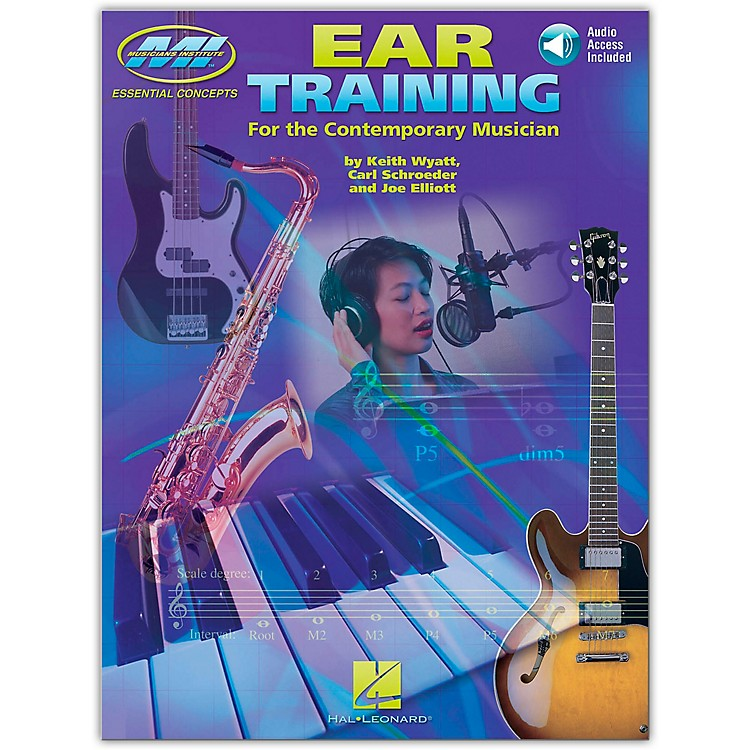 Musicians Institute Ear Training for All Musicians (Book and 2-CD Set)