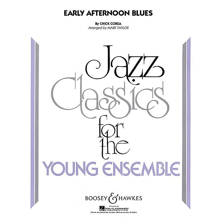 Hal LeonardEarly Afternoon Blues (jazz Ensemble Grade 3) Full Score Concert Band