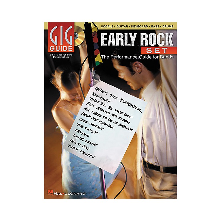 Hal LeonardEarly Rock Set Gig Guide Book with CD