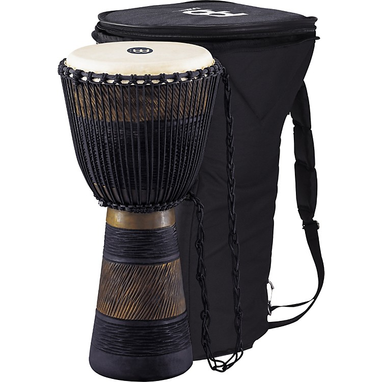 MeinlEarth Rhythm Series Original African-Style Rope-Tuned Wood Djembe with BagLarge