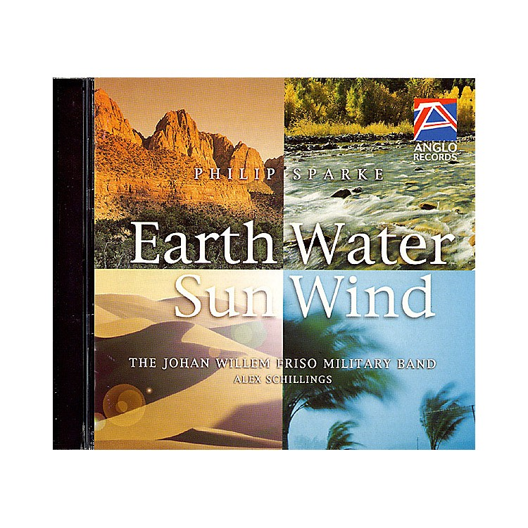 Anglo Music PressEarth, Water, Sun, Wind (Anglo Music Press CD) Concert Band Composed by Philip Sparke