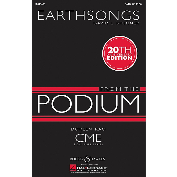 Boosey and HawkesEarthsongs (CME From the Podium) SATB composed by David Brunner