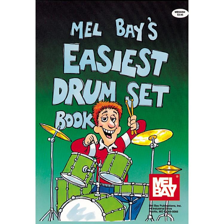 Mel BayEasiest Drumset Book