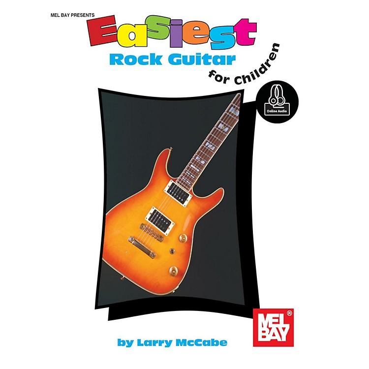 Mel BayEasiest Rock Guitar for Children, Book plus Online Audio