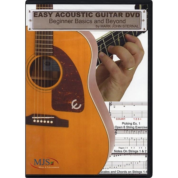 MJS Music PublicationsEasy Acoustic Guitar DVD: Beginner Basics and Beyond