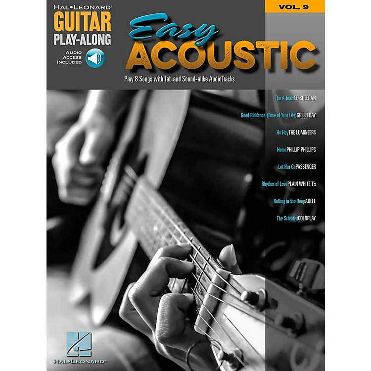 Hal Leonard Easy Acoustic Songs - Guitar Play-Along Vol. 9 Book/Online Audio