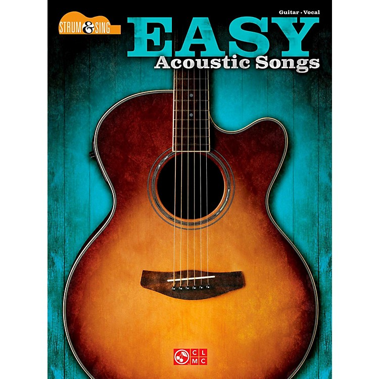 Hal Leonard Easy Acoustic Songs - Strum & Sing Guitar