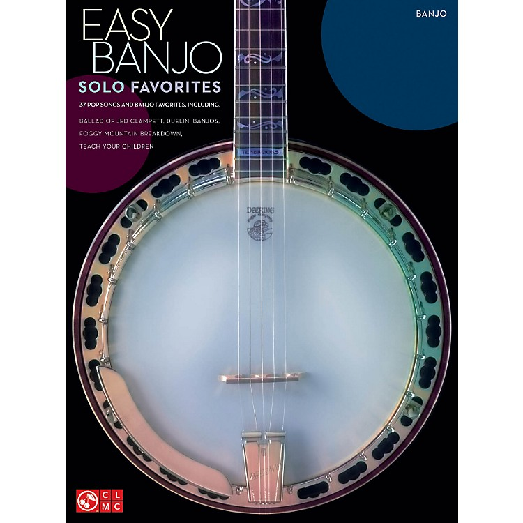Hal LeonardEasy Banjo Solo Favorites banjo songbook