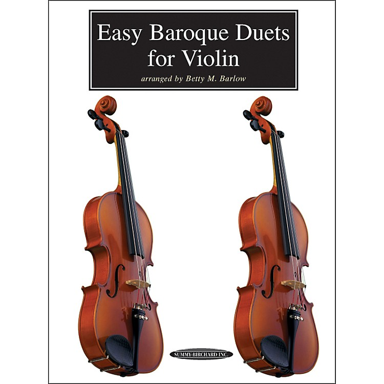 Alfred Easy Baroque Duets for Violin (Book)