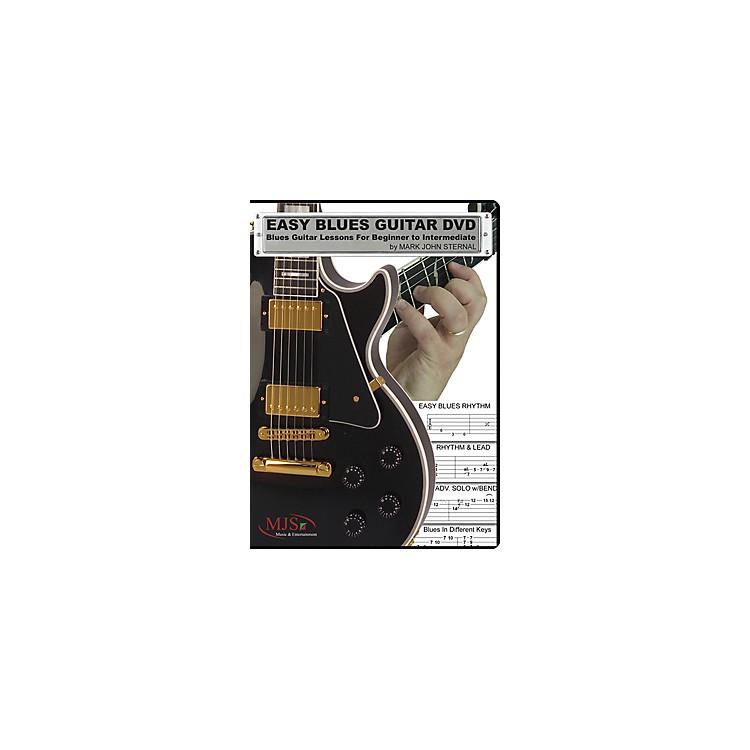MJS Music PublicationsEasy Blues Guitar DVD: Blues Guitar Lessons for Beginner through Intermediate