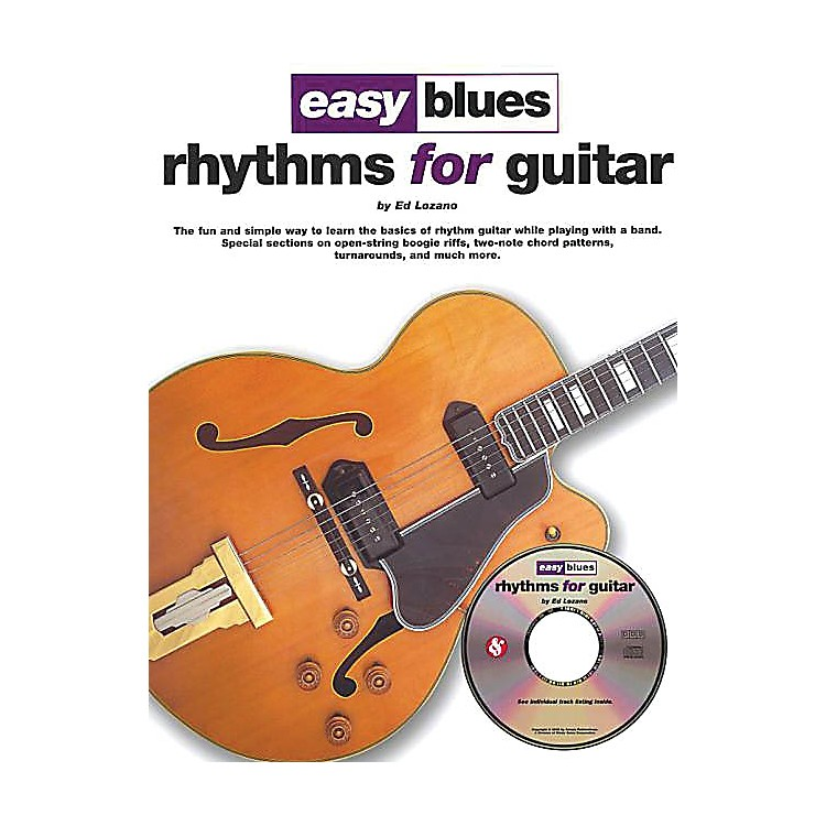 Music Sales Easy Blues Rhythms for Guitar Music Sales America Series Softcover with CD Written by Ed Lozano