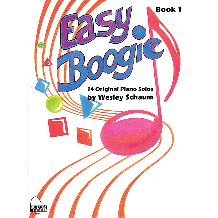 SCHAUMEasy Boogie Book 1 Educational Piano Series Softcover Composed by Wesley Schaum