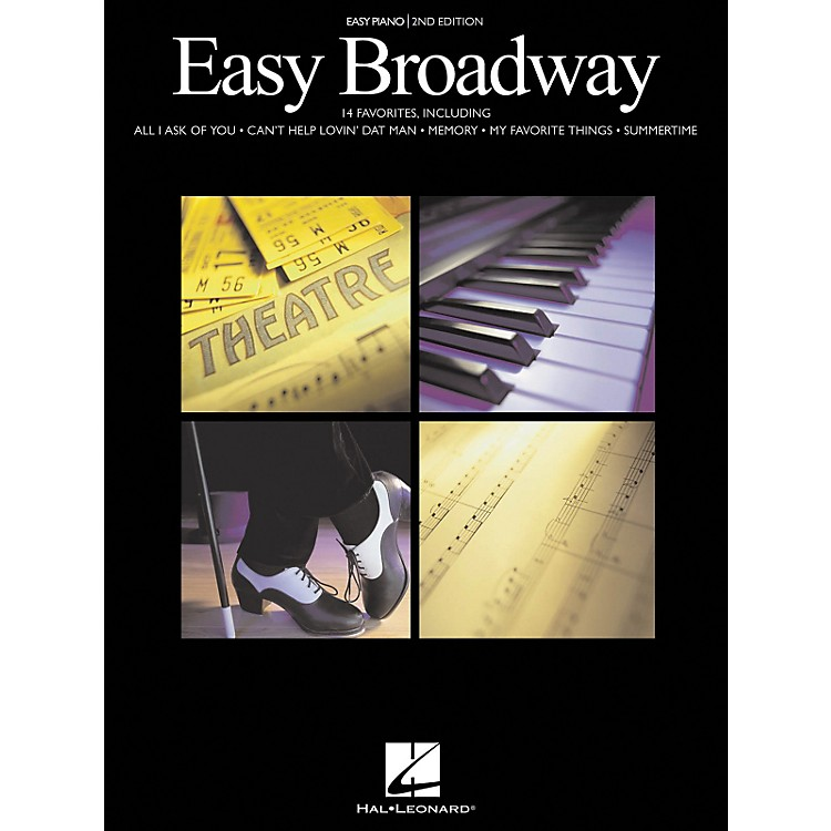 Hal LeonardEasy Broadway For Easy Piano 2nd Edition