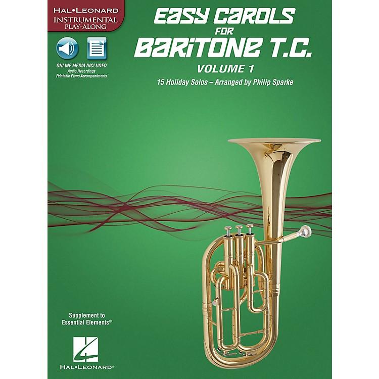 Hal LeonardEasy Carols for Baritone T.C. - Vol. 1 Instrumental Folio Series Softcover Media Online