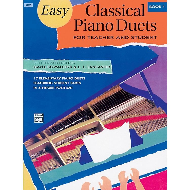 AlfredEasy Classical Piano Duets for Teacher and Student Book 1