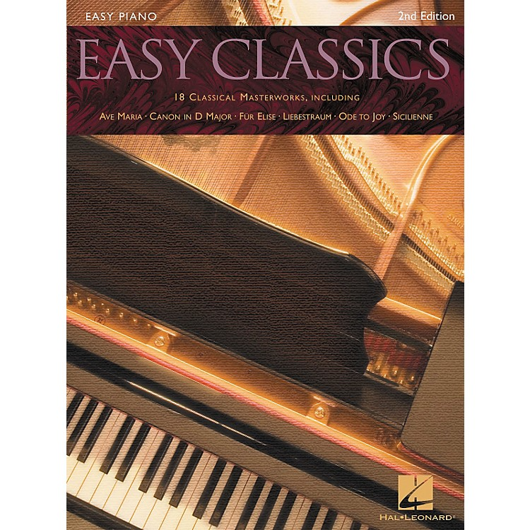 Hal LeonardEasy Classics For Easy Piano 2nd Edition