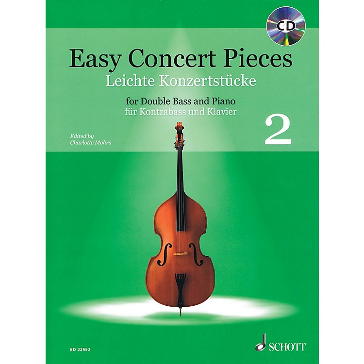 SchottEasy Concert Pieces, Book 2 (24 Easy Pieces from 5 Centuries using Half to 3rd Position) Book/CD
