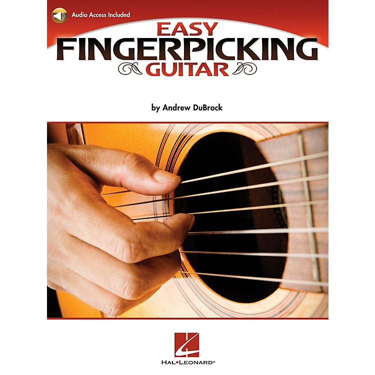 Hal LeonardEasy Fingerpicking Guitar Guitar Educational Series Softcover Audio Online Written by Andrew DuBrock