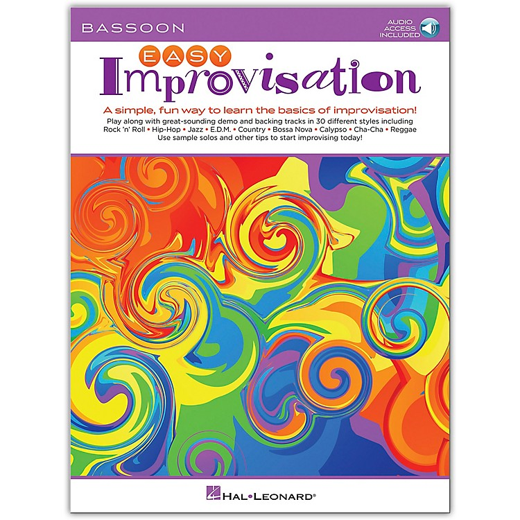 Hal Leonard Easy Improvisation for Bassoon Book/Audio Online