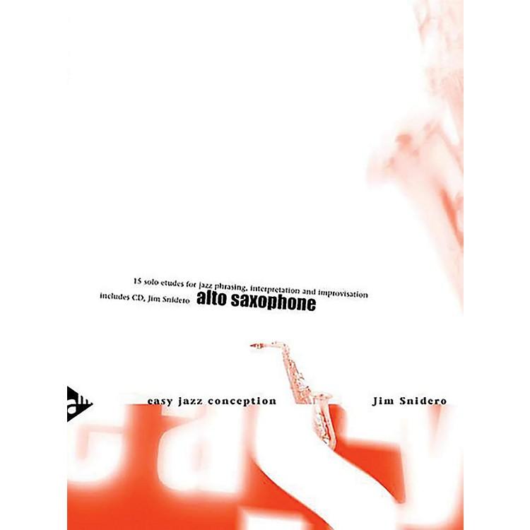 ADVANCE MUSICEasy Jazz Conception: Alto Saxophone Book & CD (English/German Edition)