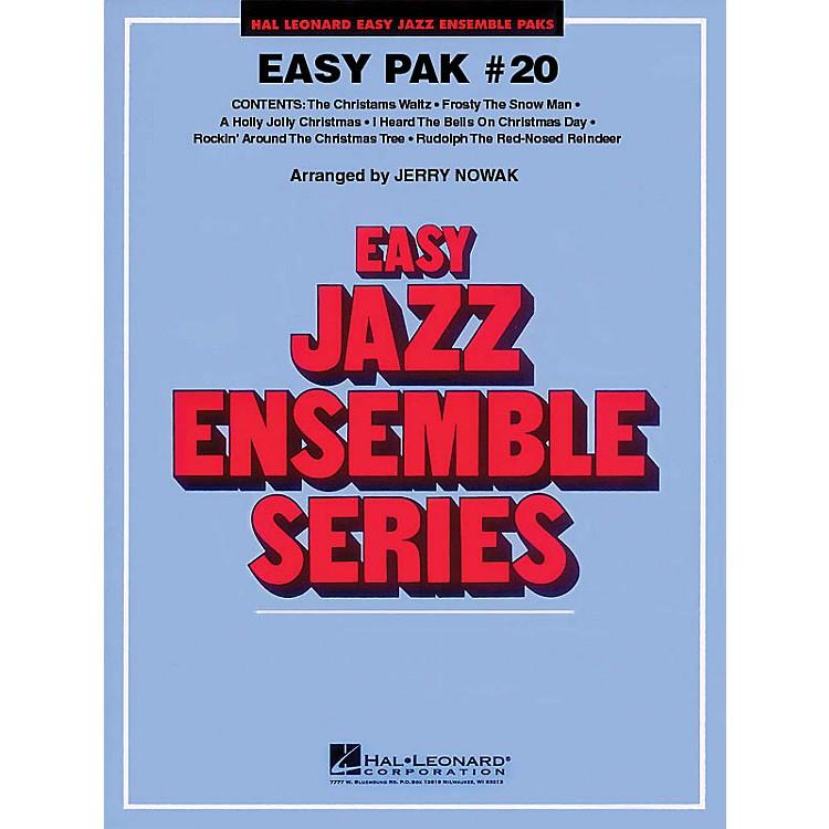 Hal LeonardEasy Jazz Ensemble Pak 20 (Christmas) Jazz Band Level 2 Arranged by Jerry Nowak