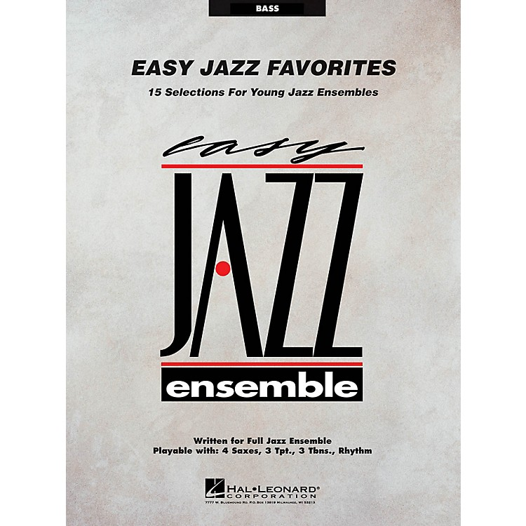 Hal LeonardEasy Jazz Favorites - Bass Jazz Band Level 2 Composed by Various