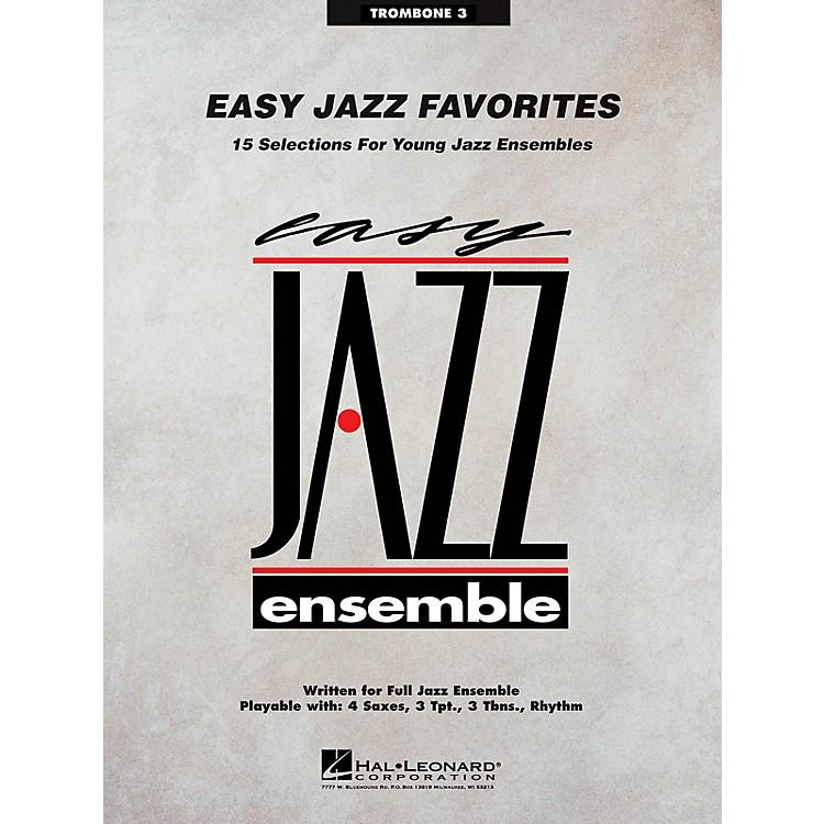Hal LeonardEasy Jazz Favorites - Trombone 3 Jazz Band Level 2 Composed by Various