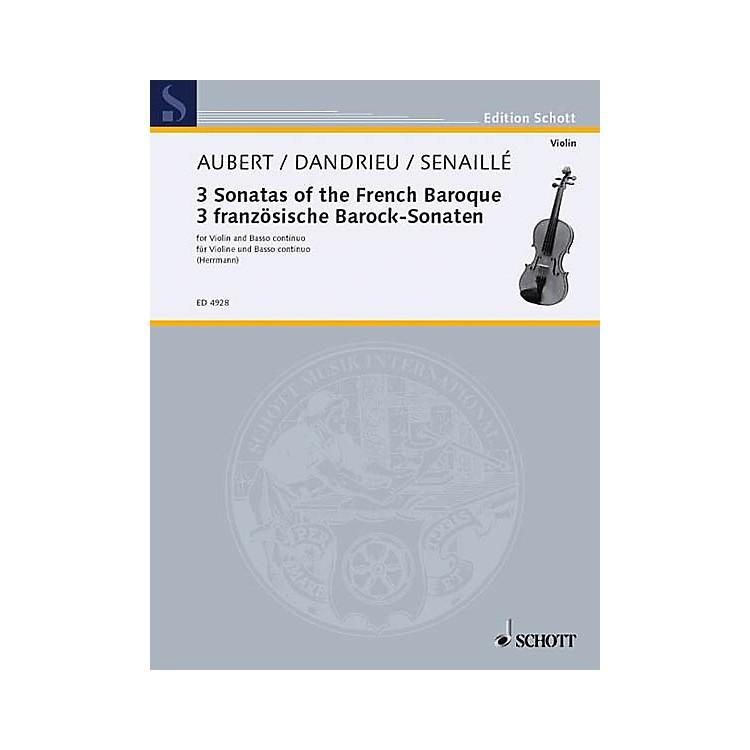 SchottEasy Old French Sonatas Vn/bc Schott Series