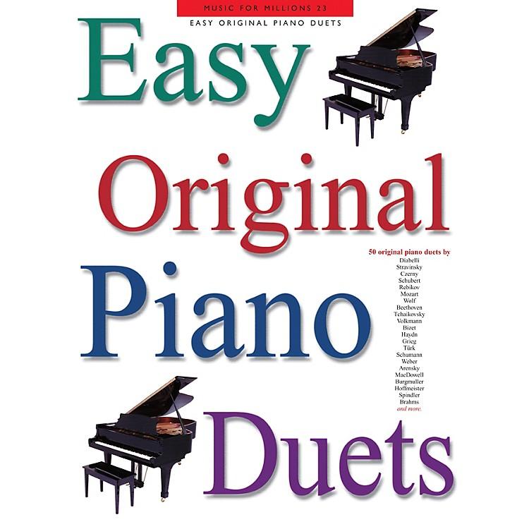 Music SalesEasy Original Piano Duets Music Sales America Series Softcover