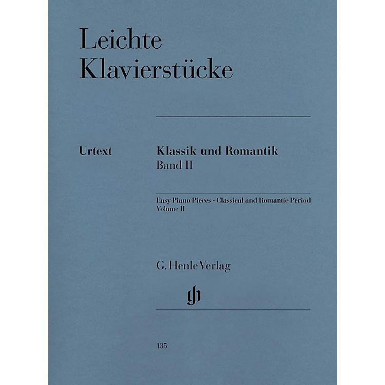 G. Henle VerlagEasy Piano Pieces - Classic and Romantic Eras - Volume 2 Henle Music Folios Series Softcover