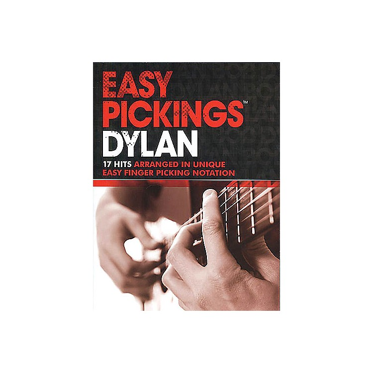 Music Sales Easy Pickings Dylan Music Sales America Series Softcover Performed by Bob Dylan