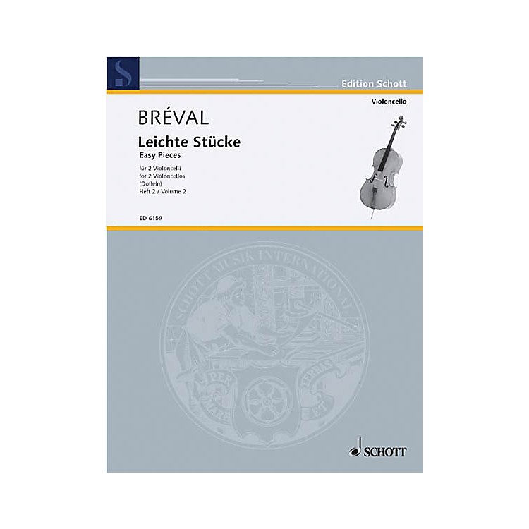 SchottEasy Pieces Vol. 2 (Performance Score) Schott Series Composed by Jean Baptiste Bréval