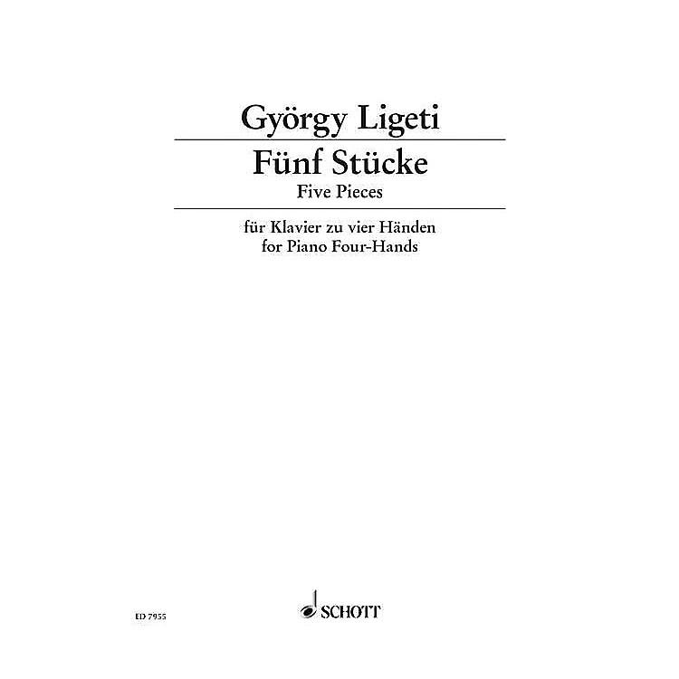 SchottEasy Pieces for Piano Schott Series