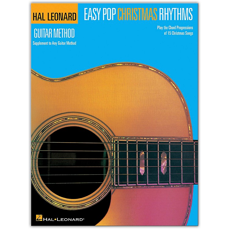Hal Leonard Easy Pop Christmas Rhythms (Supplement to Any Guitar Method) Songbook