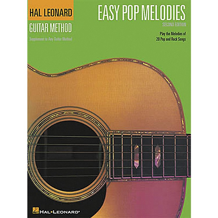 Hal LeonardEasy Pop Melodies - 2nd Edition Guitar Chord Songbook