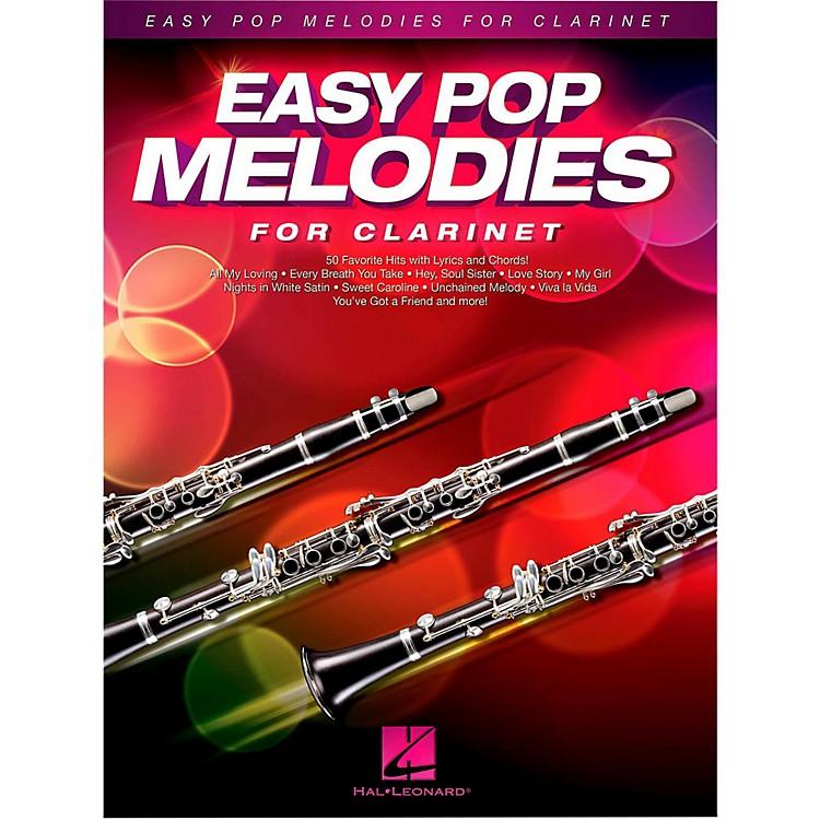 Hal LeonardEasy Pop Melodies For Clarinet